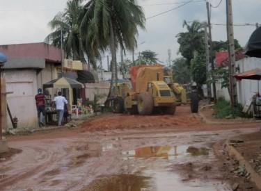 Cocody: la rénovation de la voie des II-Plateaux Les Perles stoppée