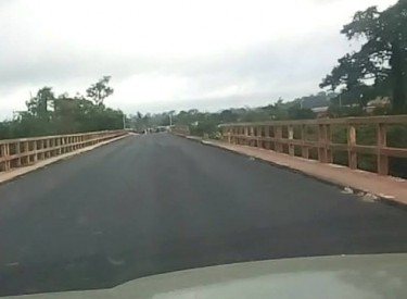 Abengourou : La chaussée du pont de la Comoé entièrement rénovée
