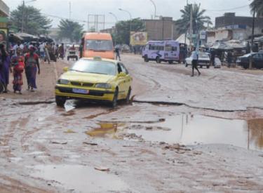 Pluies diluviennes : Mauvaises qualités des routes