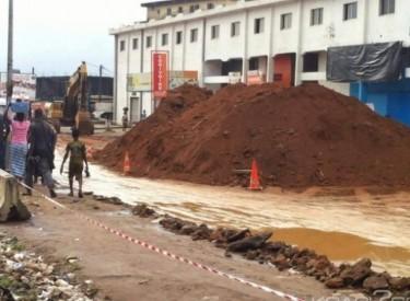 Abobo, route Samaké-Mairie, des perturbations dans le déroulement des travaux
