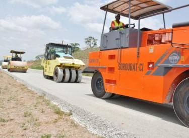 Réhabilitation de l'axe Singrobo-Yamoussoukro 14 milliards Fcfa injectés