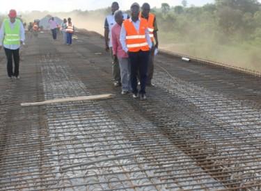 Secteur des infrastructures routières en Côte d'Ivoire 347 milliards FCFA d'appui reçus de la France