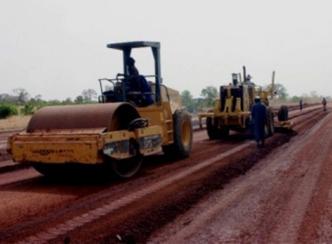 Les travaux de bitumage de l'axe Odienné-Gbéléban exécutés à 25% à quelques mois de sa livraison