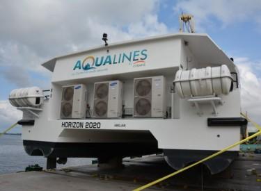 Transport lagunaire : la Citrans réceptionne six nouveaux bateaux au port d'Abidjan