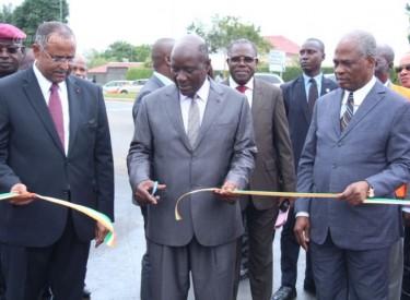 Fluidité routière : le Premier ministre Duncan inaugure la bretelle de la rue des jardins