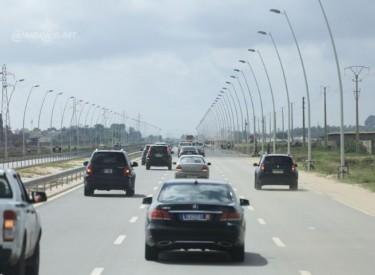 Mise en service de l'éclairage public sur l'autoroute Abidjan-Grand Bassam