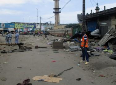 Adjamé : Des jets de pierres lors du déguerpissement, ce mardi