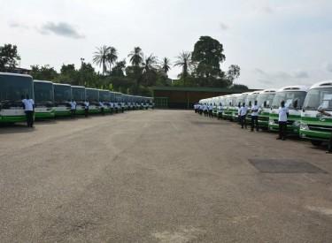 500 nouveaux bus pour renforcer le parc auto de la SOTRA
