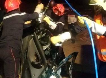 Grave accident sur l'autoroute du Nord: 2 morts et 2 blessés