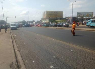 Abobo: la rénovation de la voie express venant d'Adjamé a atteint la commune