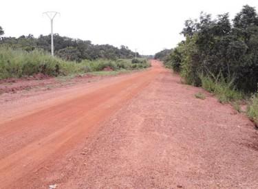 La  voie non bitumée Motiamo-Soko désormais ouverte aux usagers