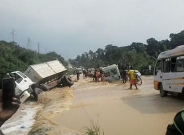 Pluies diluviennes : L'axe Divo-Tiassalé coupé à la circulation
