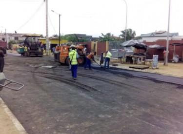 Le démarrage des travaux de bitumage bien accueilli par les habitants de Ouangolodougou