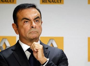 Carlos Ghosn a démissionné de la présidence de Renault