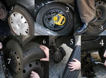 Comment changer une roue soi même - Le mode d'emploi