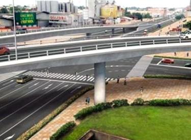Les travaux de l'échangeur du carrefour Solibra réalisés à 33%