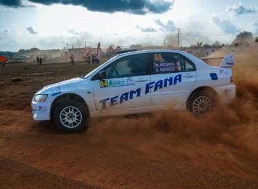 4ème Rallye de Dimbokro : la bonne opération pour Tino Abondio et Hugo Borges