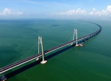 Le pont le plus long du monde inauguré entre Hong Kong et Macao
