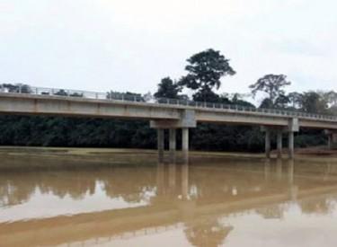 Les travaux de construction du pont reliant Dabakala à Tagbonon bientôt lancés