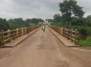 Le pont sur le fleuve N'zo de Guiglo réhabilité